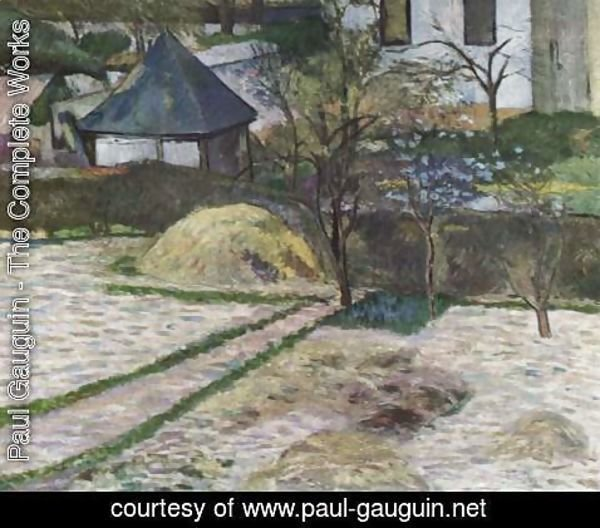 Paul Gauguin - Landscape at Osny