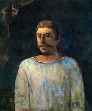 Self-portrait pres du Golgotha