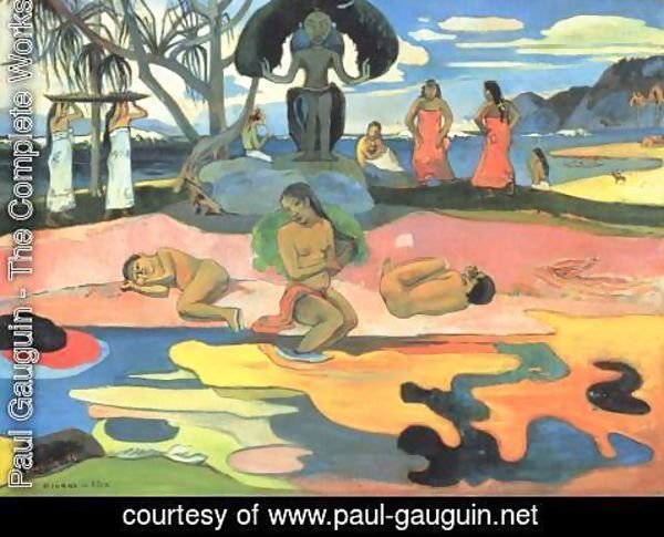 Paul Gauguin - Sunday (Mahana no atua)