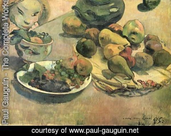Paul Gauguin - Still life with fruits