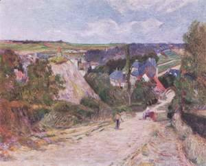 Paul Gauguin - Village entrance