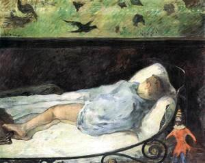 Paul Gauguin - Sleeping Boy (Emile Gauguin)