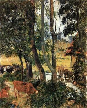 Paul Gauguin - Watering