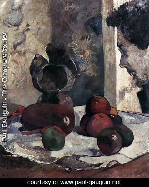 Paul Gauguin - Still-Life with Portrait of Laval