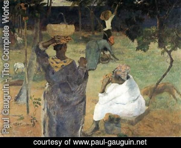 Paul Gauguin - Picking Mangoes
