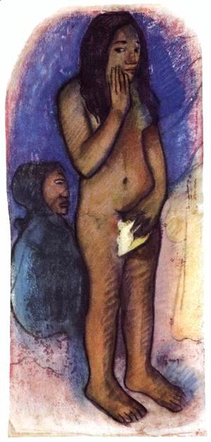 Paul Gauguin - Words of Devil (Eve)