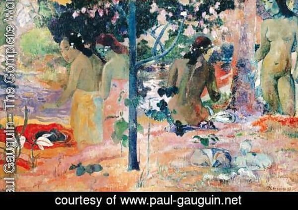 Paul Gauguin - The Bathers 2