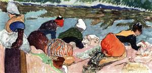 Paul Gauguin - Washerwomen at Arles