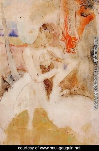 Paul Gauguin - Here we make love