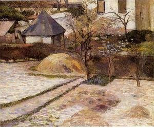 Paul Gauguin - Landscape near Osny