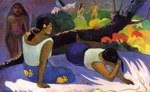 Paul Gauguin - Reclining Tahitian Women