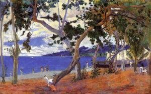 Paul Gauguin - Coastal Landscape from Martinique
