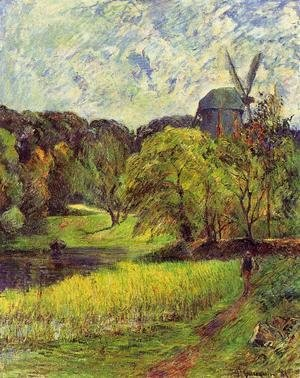 Paul Gauguin - The Queen's Mill