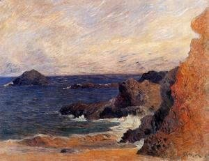 Paul Gauguin - Coastal landscape