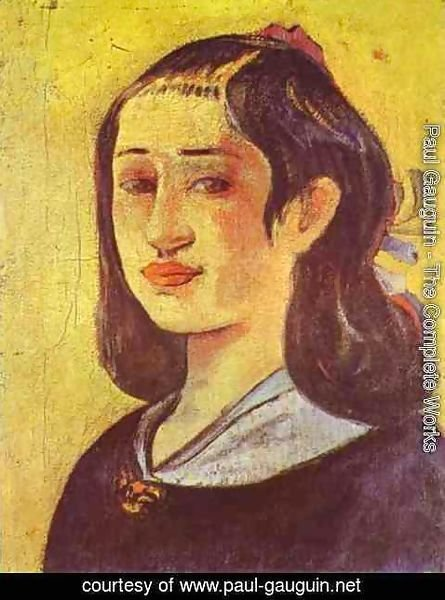 Paul Gauguin - Portrait of a mother