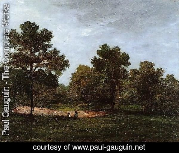 Paul Gauguin - A Clearing