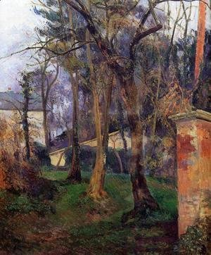 Paul Gauguin - Abandoned Garden  Rouen