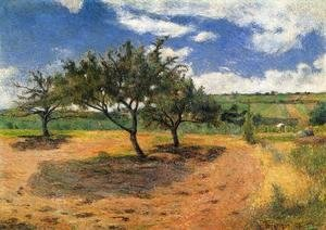 Paul Gauguin - Apple Trees At L Hermitage