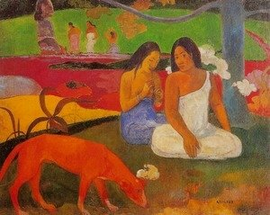 Paul Gauguin - Arearea Aka Joyousness