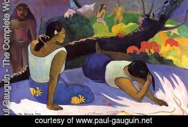 Paul Gauguin - Arearea No Varua Ino