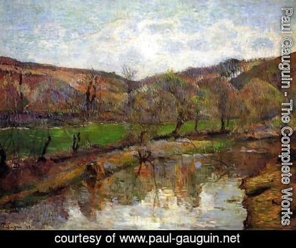 Paul Gauguin - Aven Valley  Upstream Of Pont Aven