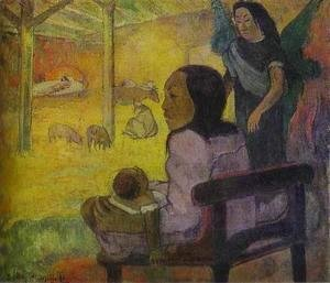Paul Gauguin - Baby Aka The Nativity