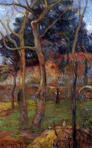 Paul Gauguin - Bare Trees