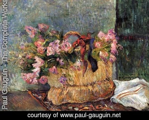 Paul Gauguin - Basket Of Flowers