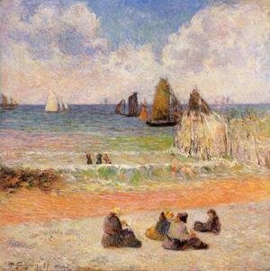 Paul Gauguin - Bathing  Dieppe