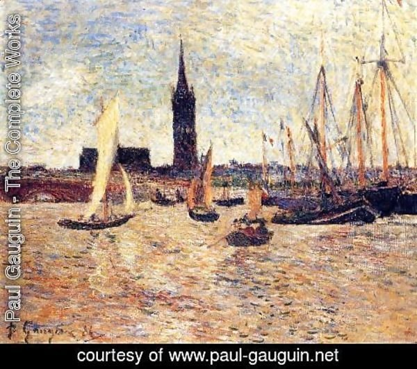 Paul Gauguin - Bordeaux Harbor