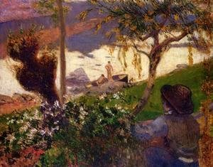 Paul Gauguin - Breton Boy By The Aven River