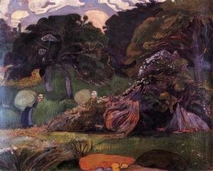 Paul Gauguin - Brittany Landscape