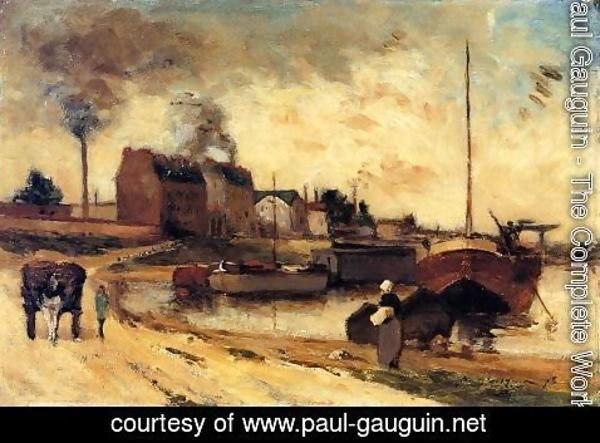 Paul Gauguin - Cail Factories And Quai De Grenelle