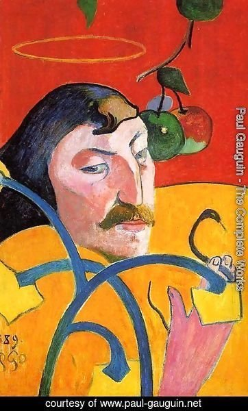 Paul Gauguin - Caricature  Self Portrait