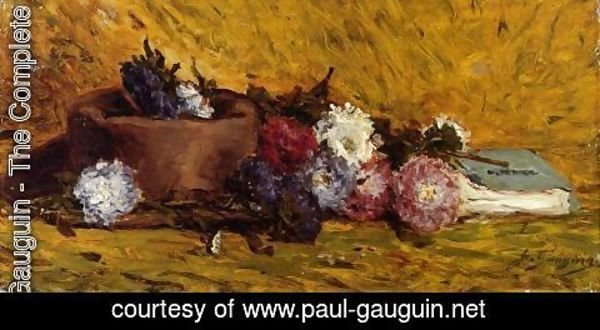 Paul Gauguin - China Asters  Hat And Book