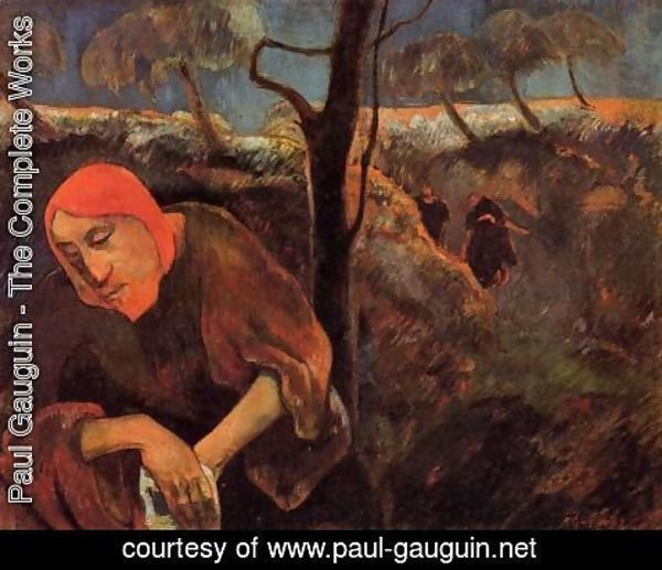 Paul Gauguin - Christ In The Garden Of Olives
