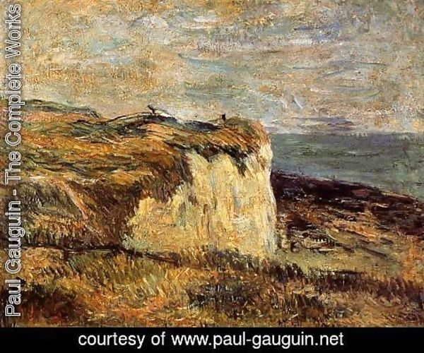 Paul Gauguin - Cliff Near Dieppe