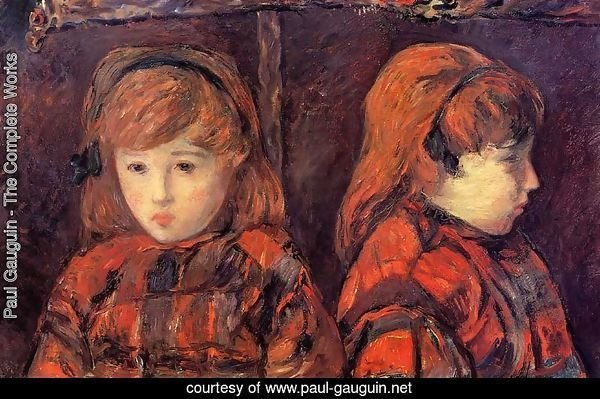 Double Portrait Of A Young Girl (Mademoiselle Lafuite)