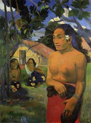 Paul Gauguin - E Haere Oe I Hia Aka Where Are You Going