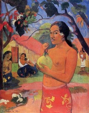 Paul Gauguin - Ea Haere La Oe Aka Where Are You Going