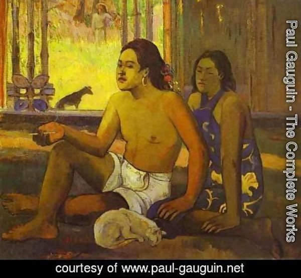 Paul Gauguin - Eilaha Ohipa Aka Not Working