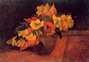 Paul Gauguin - Evening Primroses In A Vase