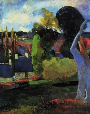 Paul Gauguin - Farm In Brittany2