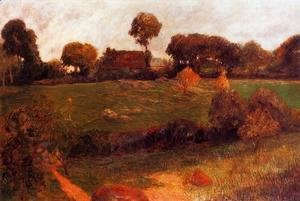 Paul Gauguin - Farm In Brittany3