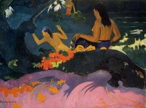 Paul Gauguin - Fatata Te Miti Aka By The Sea
