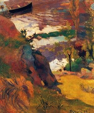 Paul Gauguin - Fishermen And Bathers On The Aven