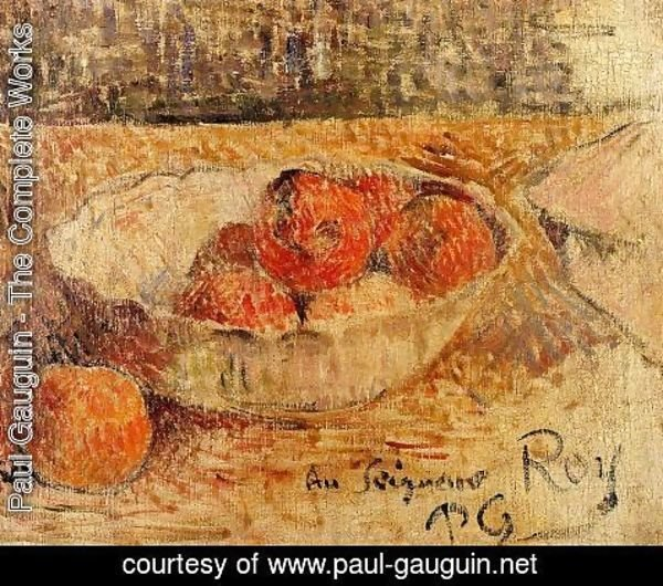 Paul Gauguin - Fruit In A Bowl
