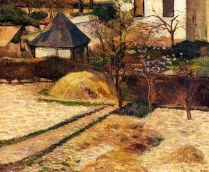 Paul Gauguin - Garden View  Rouen