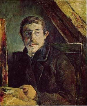 Paul Gauguin - Gauguin At His Easel