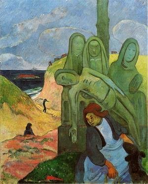 Paul Gauguin - Green Christ Aka Breton Calvary